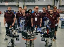 Team photo of the RWTH Carologistics